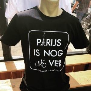 t-shirt, tekst, zwart